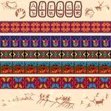 Αφρικανικά μοτίβα διανυσματική απεικόνιση