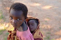 αφρικανικά παιδιά Στοκ Φωτογραφίες