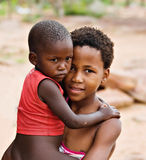 αφρικανικά παιδιά Στοκ Φωτογραφία