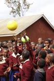 Αφρικανικά παιδιά στο σχολείο, Τανζανία Στοκ Εικόνα