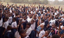 Αφρικανικά παιδιά σχολείου Στοκ Εικόνα