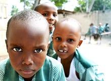 Αφρικανικά σχολικά αγόρια Στοκ εικόνα με δικαίωμα ελεύθερης χρήσης