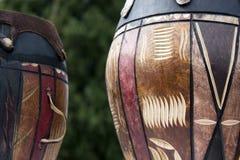 αφρικανικά τύμπανα Στοκ εικόνες με δικαίωμα ελεύθερης χρήσης