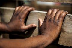 αφρικανικά χέρια στοκ φωτογραφία με δικαίωμα ελεύθερης χρήσης