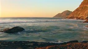 Αφρικανικά ωκεάνια κύματα απόθεμα βίντεο