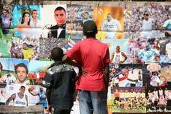 αφρικανικά όνειρα Στοκ Εικόνες