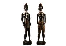 Αφρικανικά statuettes Στοκ Εικόνα