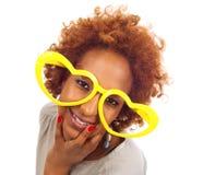 αφρικανικές αστείες γυναίκες Στοκ φωτογραφία με δικαίωμα ελεύθερης χρήσης