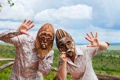 αφρικανικές διακοπές Στοκ εικόνα με δικαίωμα ελεύθερης χρήσης