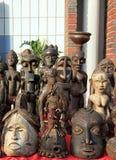 αφρικανικές μάσκες Στοκ Εικόνα