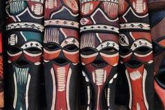 αφρικανικές μάσκες Στοκ φωτογραφία με δικαίωμα ελεύθερης χρήσης