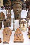 αφρικανικές μάσκες Στοκ Εικόνες