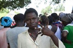 αφρικανικές νεολαίες ατόμων στοκ φωτογραφία
