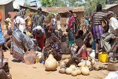 Αφρικανική αγορά Στοκ Φωτογραφίες