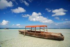 αφρικανική βάρκα Στοκ Φωτογραφία