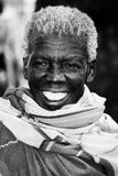 Αφρικανική γιαγιά Στοκ εικόνες με δικαίωμα ελεύθερης χρήσης