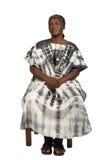 αφρικανική ηλικιωμένη γυν στοκ φωτογραφία