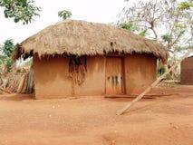 αφρικανική καλύβα Στοκ Εικόνα