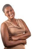 Αφρικανική κυρία Portrait Στοκ Φωτογραφία