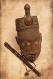 αφρικανική μάσκα στοκ φωτογραφία