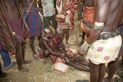 Αφρικανικοί λαοί Στοκ φωτογραφία με δικαίωμα ελεύθερης χρήσης