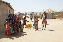 Αφρικανικοί λαοί Στοκ Εικόνα