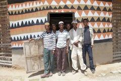 Αφρικανικοί λαοί Στοκ Φωτογραφία