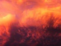 Αφρικανικοί ουρανοί 4 Στοκ Εικόνες