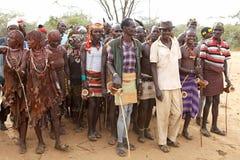 Αφρικανικοί φυλετικοί λαοί Στοκ φωτογραφίες με δικαίωμα ελεύθερης χρήσης
