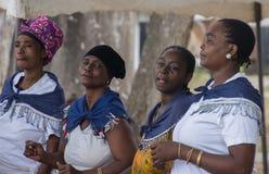 αφρικανικοί χορευτές παραδοσιακοί στοκ φωτογραφία