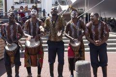 αφρικανικοί χορευτές στοκ φωτογραφία