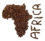 αφρικανικός καφές στοκ φωτογραφία με δικαίωμα ελεύθερης χρήσης
