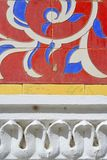 αφρικανικός κεραμωμένος τοίχος Στοκ εικόνες με δικαίωμα ελεύθερης χρήσης