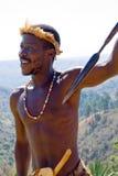 αφρικανικός μαχητής στοκ εικόνα