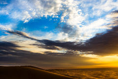 αφρικανικός ουρανός Στοκ Εικόνες