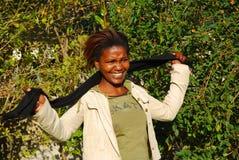 αφρικανικός σπουδαστής Στοκ Φωτογραφίες
