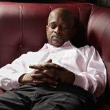 Αφρικανικός τύπος που έχει το NAP Στοκ Φωτογραφία
