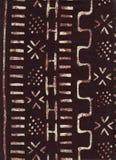 αφρικανικό εθνικό πρότυπο Στοκ εικόνα με δικαίωμα ελεύθερης χρήσης