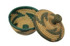 αφρικανικό καπάκι καλαθιών Στοκ Εικόνες