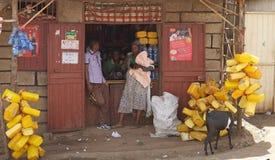 Αφρικανικό κατάστημα Στοκ φωτογραφίες με δικαίωμα ελεύθερης χρήσης