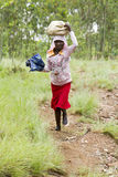 Αφρικανικό κορίτσι - Ρουάντα Στοκ Εικόνες