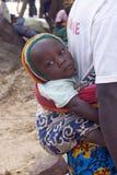 αφρικανικό μωρό στοκ φωτογραφίες