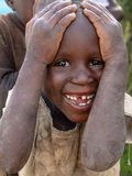 Αφρικανικό παιδί στη Ρουάντα Στοκ φωτογραφία με δικαίωμα ελεύθερης χρήσης