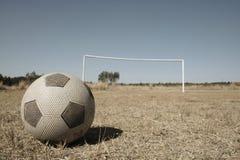 αφρικανικό ποδόσφαιρο ανά& Στοκ Εικόνα