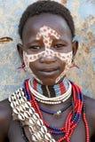 αφρικανικό πορτρέτο κορι&ta Στοκ Φωτογραφίες