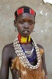 αφρικανικό πορτρέτο κορι&ta Στοκ εικόνα με δικαίωμα ελεύθερης χρήσης