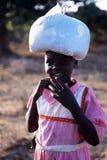 αφρικανικό πορτρέτο παιδιών Στοκ Εικόνα