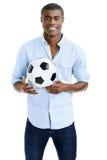αφρικανικό ποδόσφαιρο αν&e Στοκ φωτογραφίες με δικαίωμα ελεύθερης χρήσης