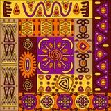 αφρικανικό πρότυπο Στοκ Φωτογραφία