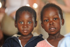 αφρικανικό σχολείο παιδ& Στοκ φωτογραφίες με δικαίωμα ελεύθερης χρήσης